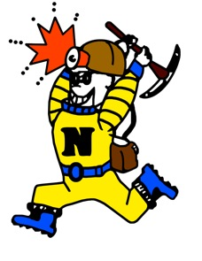 Negaunee High School Miners Mascot