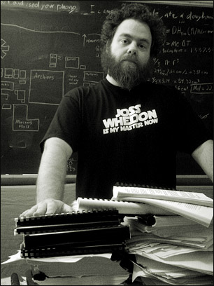 Patrick Rothfuss - The Name of the Wind and The Wise Man's Fear Author
