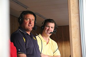 Negaunee High School Sports Announcing Crew Mark Evans and Greg Nelson