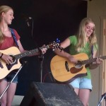 The Goldmine Girls at WFXD's Texaco Country Showdown in Marquette's Lower Harbor