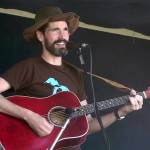 Michael Waite singing at the International Food Festival during WFXD's Texaco Country Showdown