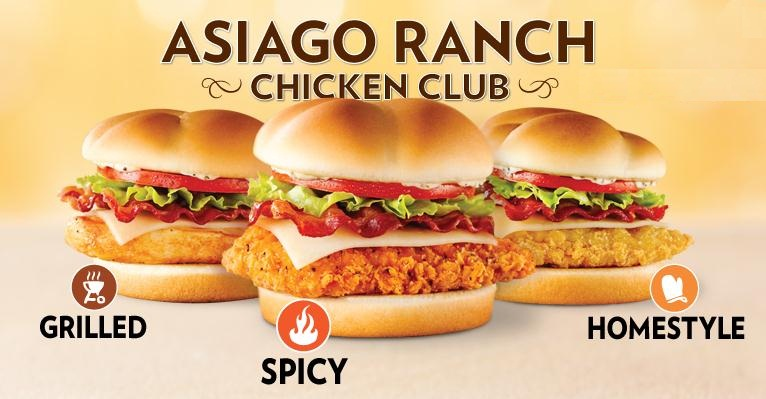 Big Valley Ford >> UP Bargains Daily Deal – Wendy's Asiago Ranch Chicken Club ...
