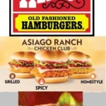 Asiago Chicken & Double Hamburger