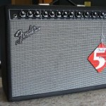 Fender Deluxe VM Amp w/ foot pedal