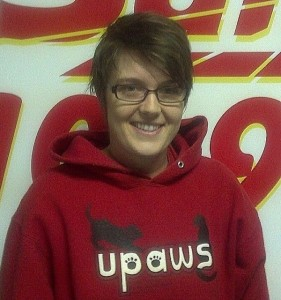 UPAWS Shelter Manager Lareina Van Strien.