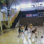 The Sunny Girls playing offense!