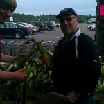 Major Discount likes his corn! Stop on by Tadych's Econo Foods in Marquette during their One Day Outdoor Produce Sale