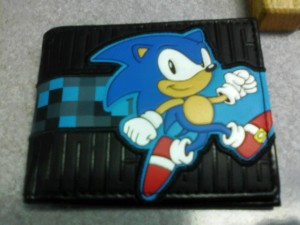 ...yes, it's totally a Sonic wallet!  WORTH IT.