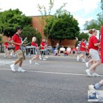 Marquette Senior High School Marching Band - Drummers