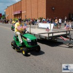 Walt Driving a John Deere Tractor You Might Win by Liking WRUP on Facebook