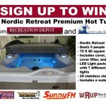 Hottub Sign up