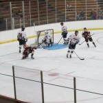 Marquette Royales first goal on home ice. Tanner Doty @ 827 in the first period.