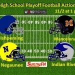 Playoff football newsletter field