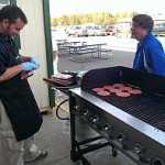 The grill is cookin' up Angus Pride Meat at Tadych's Econo Foods in Marquette
