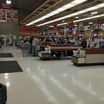 Aisles and aisles of great selections and great prices during the 1 Day Meat Sale at Tadych's Econo Foods in Marquette