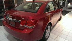 A 2014 Chevy Cruze from Frei Chevy Marquette