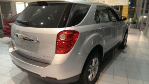 Frei Chevy with a 2014 Equinox perfect for UP roads