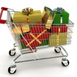 Christmas-Shopping cart