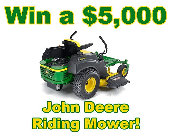 John Deere EZ Riding Lawn Mower from Michigan Sales and Great Lakes Radio