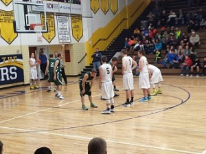 Negaunee Miners Boys vs Manistique Emeralds in Negaunee, MI on