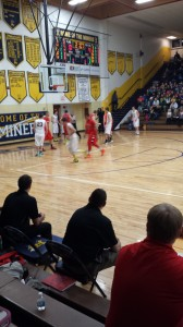 Negaunee Miners Boys Basketball VS Marquette Redmen