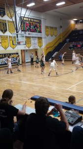 Negaunee Miners Girls Basketball VS Manistique Emeralds in Negaunee, Michigan on Sunny.FM