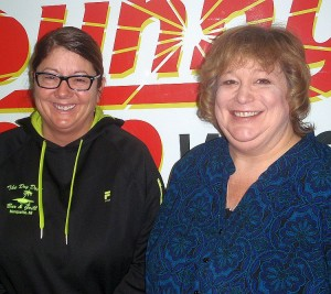 MARESA Ride-in coordinators Vicky Hood and Nancy Isaacson.