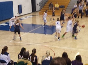 Negaunee Miners Girls Basketball vs Ishpeming Hematites on Sunny.FM. 01/20/14