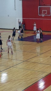 Negaunee MIners Girls Basketball vs Westwood Patriots on Sunny.FM 01/17/14