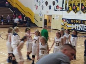 Negaunee Miners Girls vs Gwinn Modeltowners 01/09/14