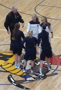 The Negaunee Miners Girls Basketball team vs Norway Knights on Sunny.FM. 01/31/14