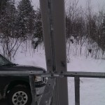 There are 8foot powered cellular antennas that are usually are 200-400 feet in the air