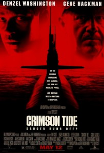 crimson tide movie poster 1