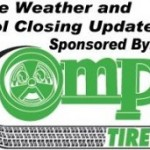 Severe Weather Coverage and School Closings brought to you by Pomp's Tire in Marquette.