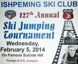 127th Annual Ishpeming Ski Jump Tournament.