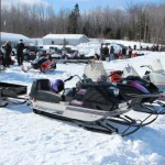 Antique and Vintage Snowmobile Show Big Bay Michigan-002