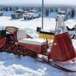 Antique and Vintage Snowmobile Show Big Bay Michigan-004