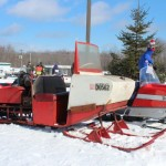 Antique and Vintage Snowmobile Show Big Bay Michigan-005