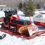 Antique and Vintage Snowmobile Show Big Bay Michigan-008