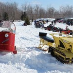 Antique and Vintage Snowmobile Show Big Bay Michigan-011