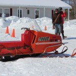 Antique and Vintage Snowmobile Show Big Bay Michigan-015
