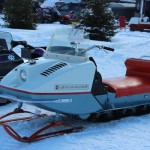 Antique and Vintage Snowmobile Show Big Bay Michigan-019
