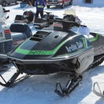 Antique and Vintage Snowmobile Show Big Bay Michigan-020
