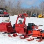 Antique and Vintage Snowmobile Show Big Bay Michigan-021