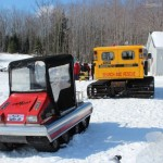 Antique and Vintage Snowmobile Show Big Bay Michigan-022