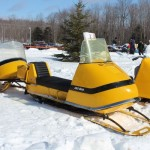 Antique and Vintage Snowmobile Show Big Bay Michigan-025