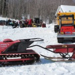 Antique and Vintage Snowmobile Show Big Bay Michigan-026