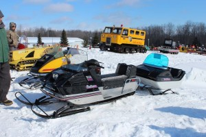 Antique and Vintage Snowmobile Show Big Bay Michigan-033