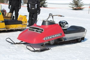 Antique and Vintage Snowmobile Show Big Bay Michigan-034