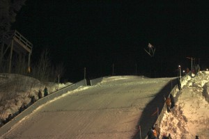 Suicide Hill Ishpeming Michigan Ski Jumping Tournament